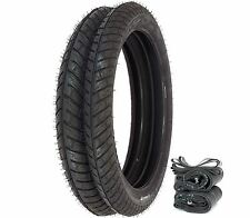 Michelin City Pro Tire Set - Honda CB/CL100/160 CB92 Tires Tubes and Rim Strips
