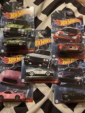 hot wheels-Scion Fr-S,Nissan Skyline 2000,88 Honda Cr-X,08 Ford Focus,Volks