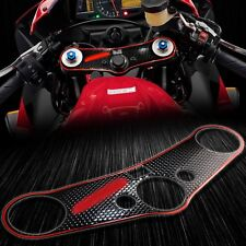Handle Yoke Cover Chromed Red/Black Sticker Protector Pad 07-17 CBR 600 CBR600RR