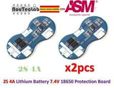 2pcs 2S 4A Li-ion Lithium 18650 BMS PCM 7.4V Battery Protection Board