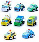 Random ONE Piece Pull Back Airplane Ambulance Fire Truck Police Car Vehicles Toy