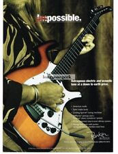 1997 PARKER Fly Electric Guitar Vtg Print Ad