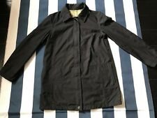 Black inner Plaid Jacket Petite Water Resistant Size PP Gallery Nordstrom Women
