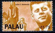 Palau John F Kennedy & Grieving Family Scarce MNH High Denom Stamp Scott's 545