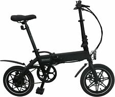 WHIRLWIND C4 Lightweight 250W Electric Foldable Pedal Assist E-Bike with LG Batt