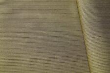 1,50m dünner Kleiderstoff khaki-gold gestreift 5,99€/m #0289