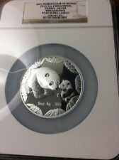 2012 ANA World's Fair of Money 5 oz Silver China Panda Medal PR69 Ultra Cam NGC
