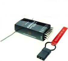 AR6100E Empfänger 6 Kanal-DSM2 2.4GHz für JR Dx5e DX6i DX7 DX8 Dx9 Neu Model G41