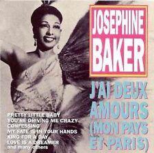 Josephine Baker CD J'ai Deux Amours Mon Pays Et Paris Golden Stars GSS-5100