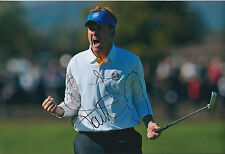 Ian POULTER SIGNED Autograph 12x8 Photo AFTAL COA Celtic Manor Ryder Cup WINNER