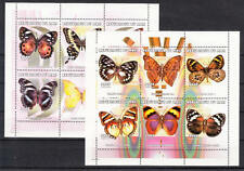 Mali - Michel-Nr. 2534-2545 postfrisch/** als Kleinbogensatz (Schmetterlinge)