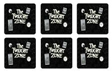 TWILIGHT ZONE COASTERS 1/4 BAR & BEER SET OF 6