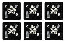 TWILIGHT ZONE COASTERS 1/4 BAR & BEER SET OF 6