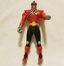 "2010 Bandai Power Rangers ""Flip Head"" Red Ninja Samurai Action Figure"