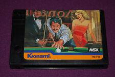 KONAMI'S BILLIARDS - Konami - Jeu Billard MSX MSX2 MSX2+ PAL