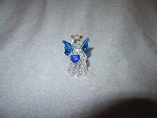 739H Ange Angelot Plastique avec Coeur H 4,6 cm