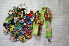 Disney pin trading Starter Set Lanyard + 50 pin lot NEW Green TIGGER lanyard