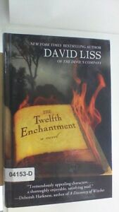 THE TWELFTH ENCHANTMENT David Liss LARGE PRINT Edition Hardcover BOOK