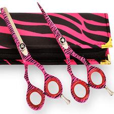 "Flame Hairdressing & Hair Thinning Scissors set 5.5"""