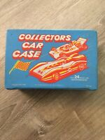 VTG Collectors Car Chase Box Holds 24 Die Cast Cars