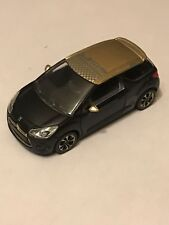CITROEN  - DS3 RACING  NOIR / OR   COLLECTION 3 INCHES  -  SERIE: 2013 1/64