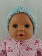 """Doll Clothes Handmade Newborn Hat Multi-colored Infant Cap 16""""-20"""" Doll 1"""