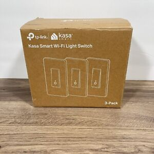 TP-LINK HS200P Kasa Smart WiFi Light Switch - White - 3 Pack Free Shipping 💡