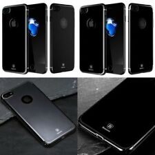 Étuis, housses et coques noirs iPhone 7 en silicone, caoutchouc, gel pour téléphone mobile et assistant personnel (PDA) Apple