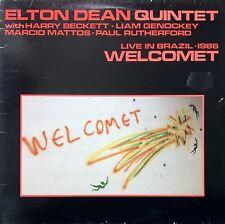 ELTON DEAN QUINTET Welcomet - In Brazil VINYL LP Original 1987 UK Issue LP