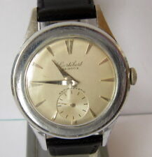 "VINTAGE RARE MILITARY SWISS MECHANICAL WATCH ""CORTEBERT""cal.677 # 447"