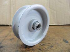 Umlenkrolle Spannrolle Riemenscheibe für MTD Keilriemen H Typ Metall Lager 83 mm