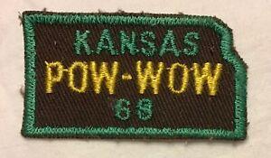 """Vintage Royal Rangers Patch 68 Kansas Pow Wow 1968 2"""""""