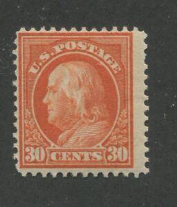 1914 US Stamp #420 30c Mint Never Hinged Fine Original Gum