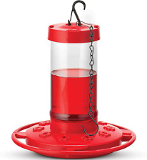 New listing Hummingbird Feeders for Outdoors 16 Oz10 Feeding Ports Includes Hanging Chain