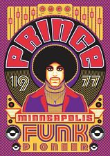 Prince 1977 Album 8x10 Craft or Quilt Fabric Block -Buy 2, Get 3d one FREE!