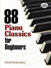 88 Piano Classics for Beginners (Sheet Music)