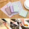 EE_ Cotton Dish Bowl Cleaning Cloth Kitchen Washing Wiping Absorbent Towel Prope