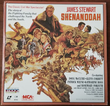 LASERDISC Movie: SHENANDOAH - James Stewart - Collectible Civil War Drama
