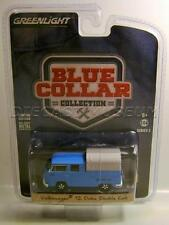 VOLKSWAGEN VW T2 DOKA DOUBLE CAB BLUE COLLAR COLLECTION GREENLIGHT DIECAST 2017