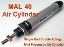 New listing Mal40mmx400mm Single Rod Double Acting Mini Pneumatic Air Cylinder insidemagnet
