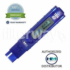 HM Digital TDS-EZ PPM Meter/Tester, Water Quality Purity Test Hydroponics Filter