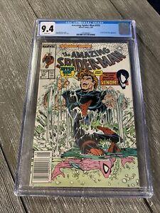 AMAZING SPIDER-MAN #315 CGC 9.4 NEWSSTAND VENOM COVER & STORY TODD McFARLANE