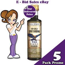Wild Eagle Bourbon Spirit Essence Flavouring x 5 Pack Promo @ $49.99 Delivered
