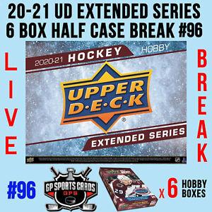 Ottawa Senators - 20-21 UD EXTENDED SERIES HOCKEY 6 BOX HALF CASE BREAK #96