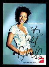 Arabella Kiesbauer PRO 7 Autogrammkarte Original Signiert # BC 93956