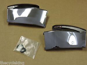 Honda GL1500 Goldwing 1500 - Chrome Right & Left Front Fender Side Covers (pair)