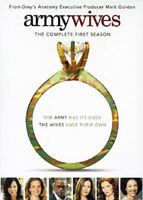 Army Wives: The Complete First Season (Season 1) (3 Disc) DVD NEW