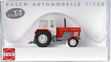 Busch 8702 - modellismo ferroviario Trattore Fortschritt colore Rosso/blu