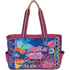 Laurel Burch Laurel Burch Medium Tote, 15 By 4 By 10-inch, Cats With