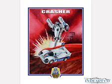 Tonka Toys 80s Gobots Crasher Giclee Print Poster Artwork Art Illustration